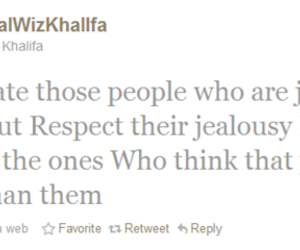 jealous, quotes, and wiz khalifa image