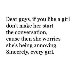 girl, quotes, and guy image