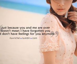 break up, girl, and quotes image