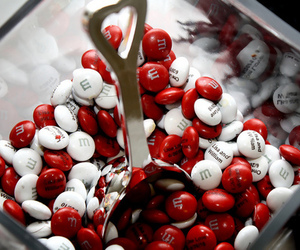candy, food, and red image