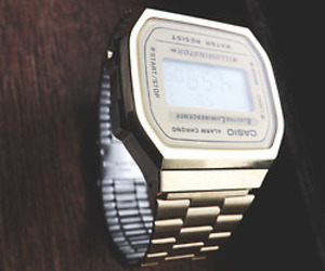 casio, gold, and tumblr image