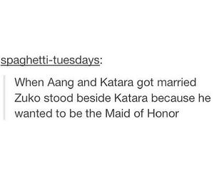 funny, marriage, and aang image