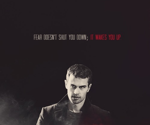 true words, divergent, and theo james image