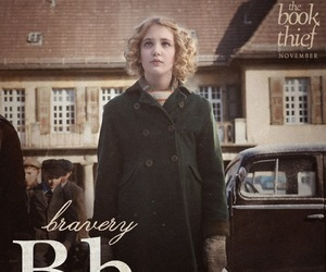 book, bravery, and the book thief image