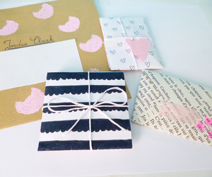 envelope, gifts, and Letter image
