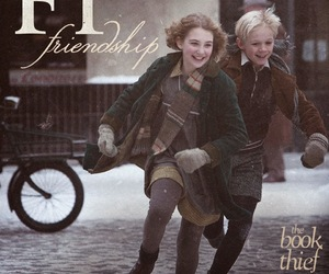 friendship, book, and the book thief image