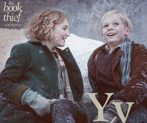 youth, book, and the book thief image