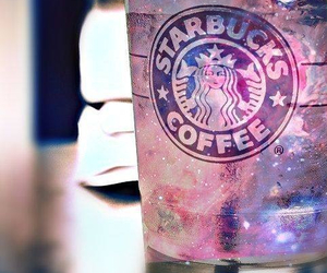 starbucks, coffee, and galaxy image