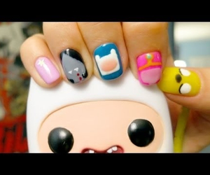 nails, not mine, and adventure time image