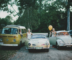 indie, car, and vintage image