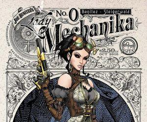 steampunk illustration image