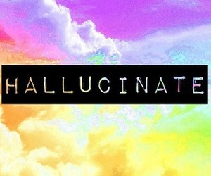 hallucinate, drugs, and weed image