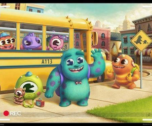 disney, monster, and baby image
