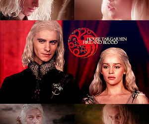 blood, dragon, and daenerys image
