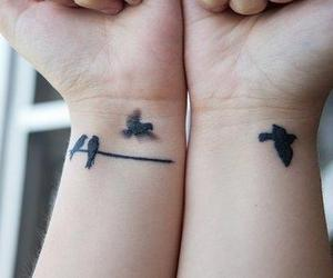 bird and tattoo image