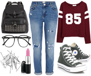 bored, look, and Polyvore image