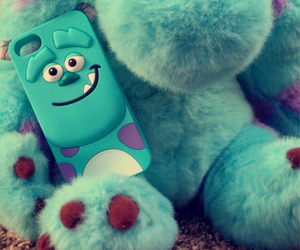 blue, disney, and monsters inc. image