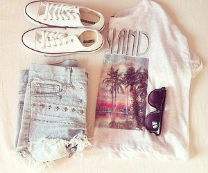 clothes, love, and converse image