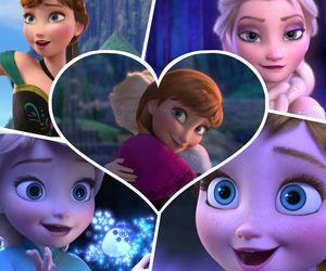 disney, frozen, and princess anna image
