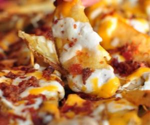 cheesy, eat, and food image