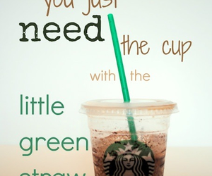 starbucks, quote, and coffee image