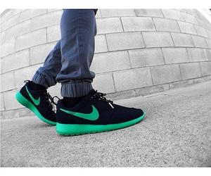 green, runners, and sexy image