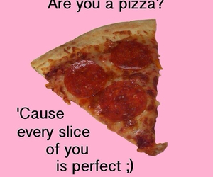 pizza, pink, and funny image