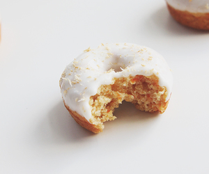 carrot, carrot cake, and donut image