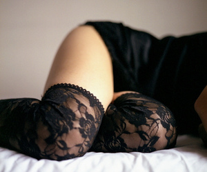 alternative, glamour, and lace image