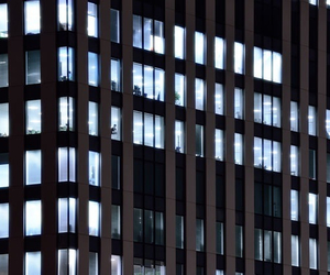 light and building image