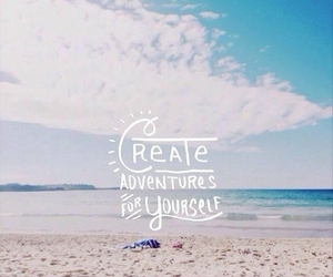 adventure, beach, and create image