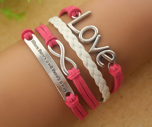 pink, love, and fashion image