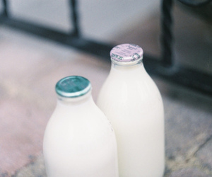 vintage, milk, and photography image