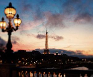 paris, city, and light image