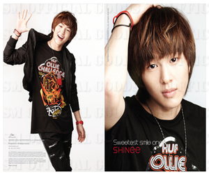 handsome, leader onew, and Onew image