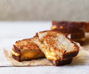food, cheese, and toast image