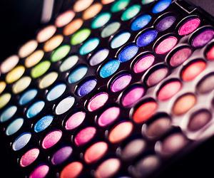 bright, eyeshadow, and makeup image