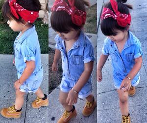baby girl, kids fashion, and fashion image