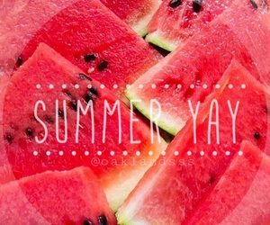 red and summer image