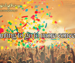 concert, just girly things, and fun image
