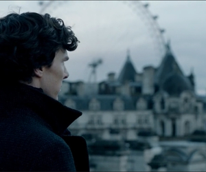 sherlock holmes, london, and benedict cumberbatch image