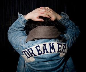 dreamer, denim, and jacket image