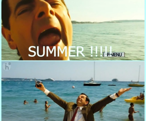 summer and mr bean image