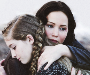katniss, catching fire, and prim image