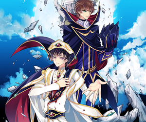 code geass, anime, and lelouch lamperouge image