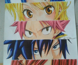 anime, fairy tail, and Lucy image