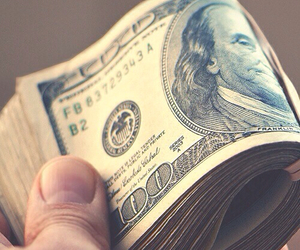 money, dollar, and cash image