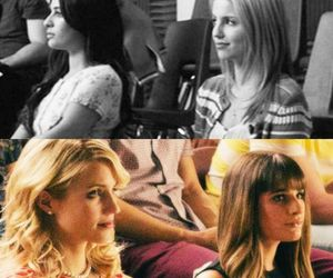 glee, achele, and faberry image