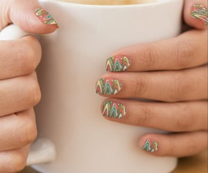abstract, manicure, and fashion image