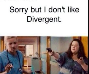 divergent, funny, and four image